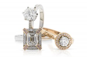 Top quality hand crafted diamond engagement rings from carats Jewellery designs
