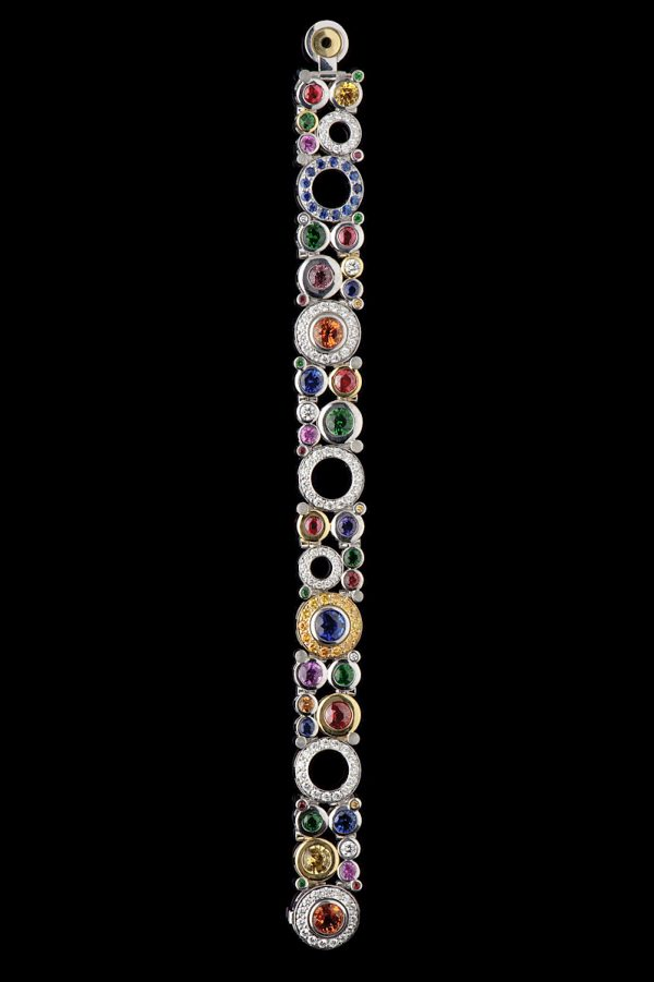 Carbonated Multi Coloured Bracelet