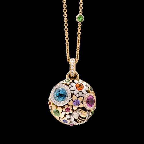 Flowers graden necklace