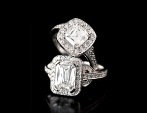 Criss Cut Diamond Rings