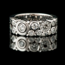 Diamond Carbonated Ring Narrow