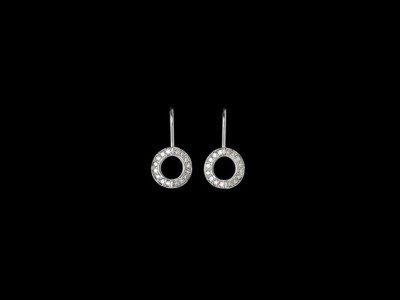 Hidden Heart Diamond Earrings