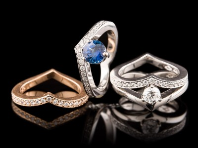 Hidden Heart Rings