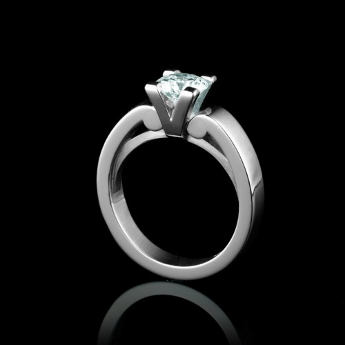 Life Solitaire Diamond Ring